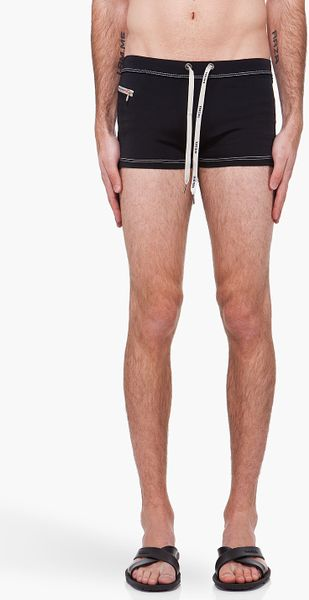 Diesel  Aloha Swim Shorts in Black for Men - Lyst