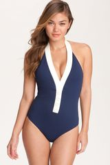 Nanette Lepore Marseilles Goddess One Piece Swimsuit - Lyst