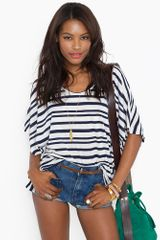 Nasty Gal Sailor Stripe Top - Lyst