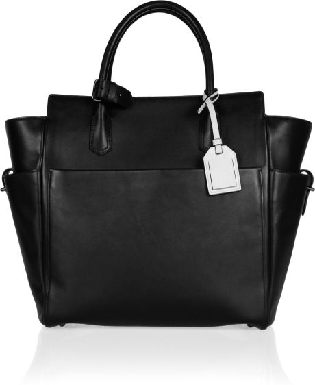 Reed Krakoff Atlantique Leather Tote in Black - Lyst