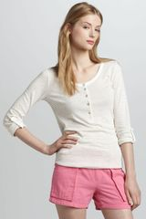 Splendid Striped Henley - Lyst