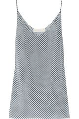 Stella McCartney Printed Silk Tank