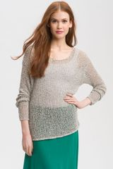 Caslon® Open Stitch Sweater - Lyst