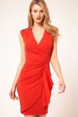 Coast Coast Deep V Front Dress - Lyst