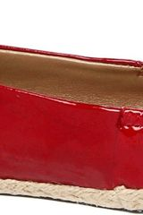 Me Too Hailey Ballet Flat in Red - Lyst