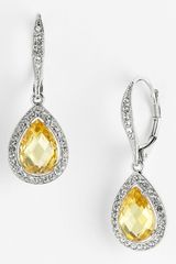 Nadri Pear Drop Boxed Earrings - Lyst