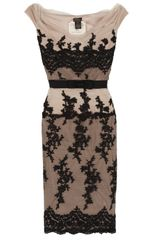 Collette Dinnigan Mirabella Lace Cocktail Dress