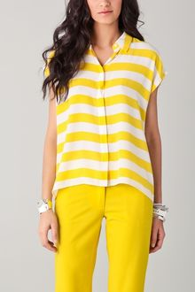 Equipment Leandra Cabana Stripe Blouse - Lyst