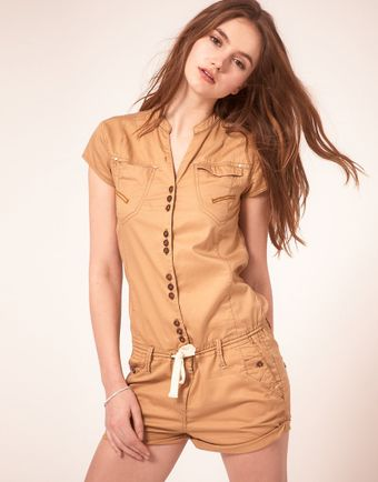 G-star Raw G Star Playsuit - Lyst