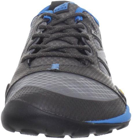 new balance mens mt20 trail minimus shoe in blue for men