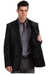 Versace Jacquard Evening Jacket in Black for Men (b) - Lyst