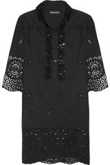 Antik Batik Kansas Embellished Cotton Dress - Lyst
