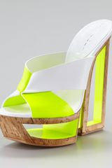 Casadei Architectural Crisscross Slide