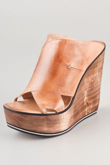 Costume National Wedge Clogs - Lyst