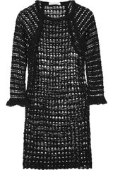 Etoile Isabel Marant Calice Crochetknit Cotton Dress - Lyst