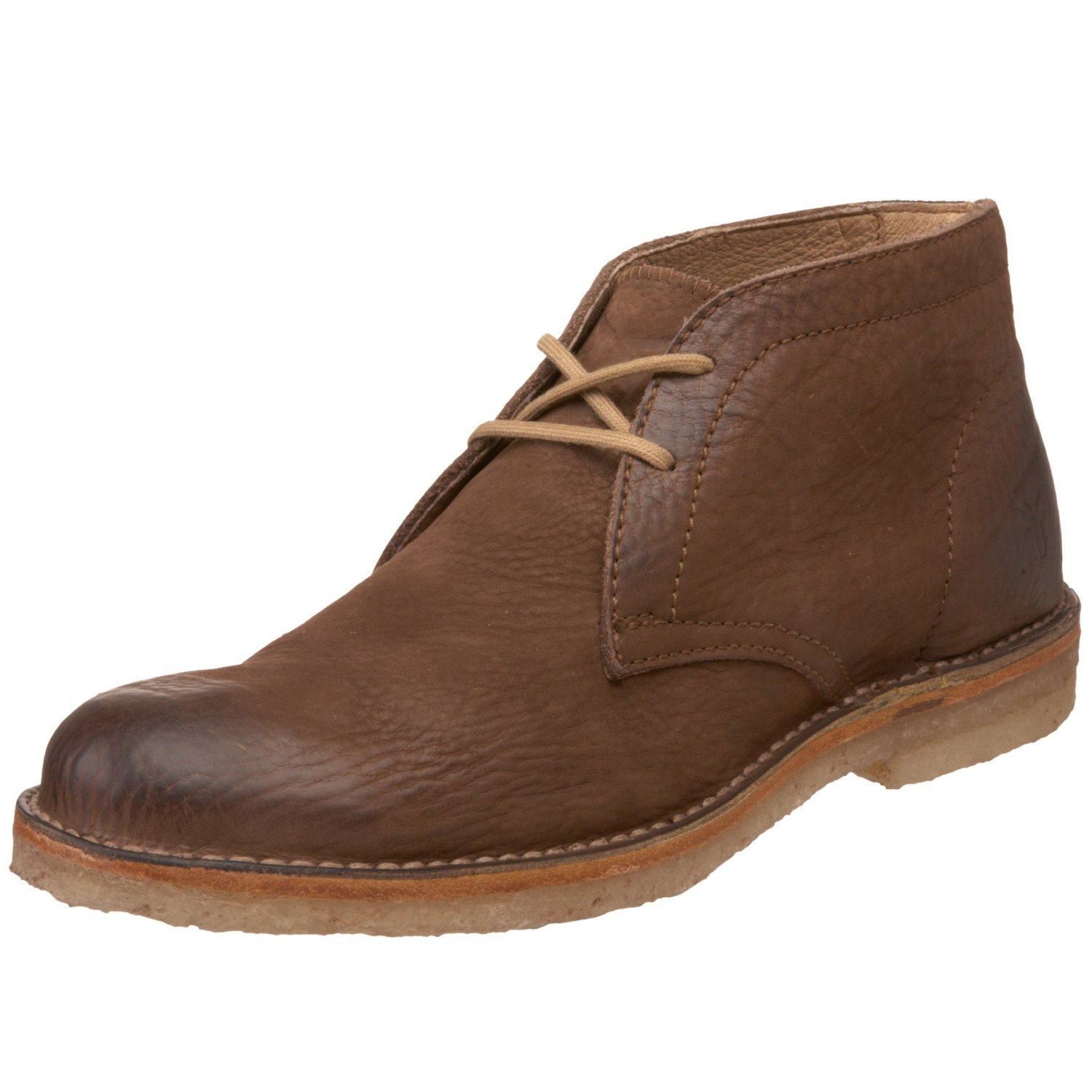 Frye Mens Hudson Chukka Boot In Brown For Men Dark Brown