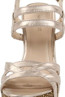 Nine West Bardough Wedge Sandal - Lyst