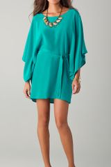 Twelfth Street by Cynthia Vincent Mini Caftan Dress - Lyst
