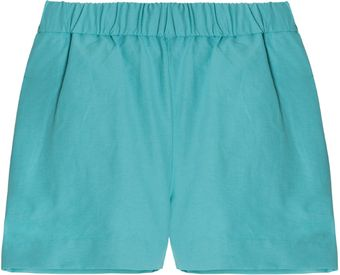 Acne Cotton Short - Lyst