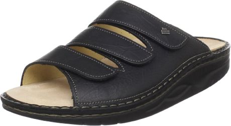 Finn Comfort Andros Slide Rocker Sandal in Black for Men