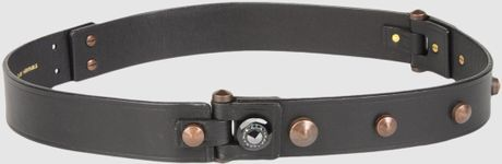 Lanvin Belts in Black - Lyst