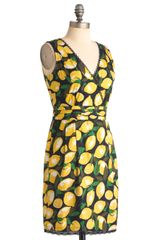 Modcloth Lemon Amie Dress in Yellow (lemon) - Lyst