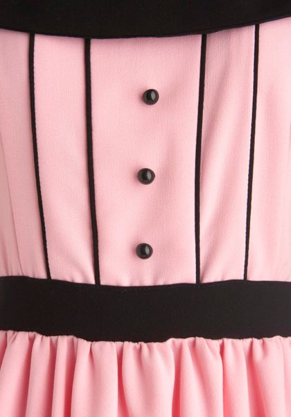 Modcloth Canal and Forever Dress in Pink - Lyst