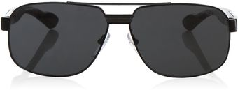 Prada Caravan Double Bridge Sunglasses - Lyst
