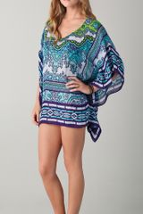 Theodora & Callum Goa Scarf Cover Up - Lyst