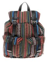 Asos Aztec Backpack - Lyst