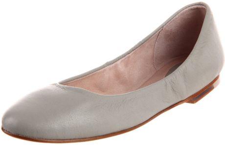 Ballet Flat in Silver