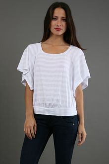 Ella Moss Waldo Top in White - Lyst