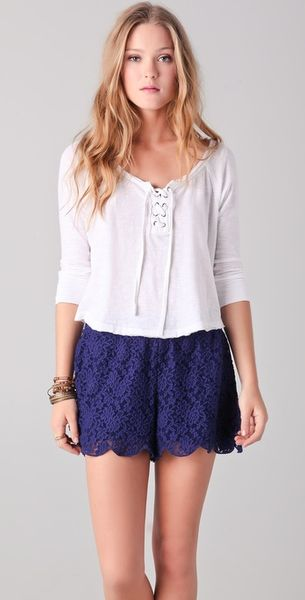 Free People Gate Keeper Top - Lyst