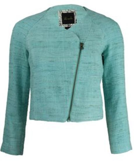 Kelly Wearstler Jacket in Green (mint) - Lyst