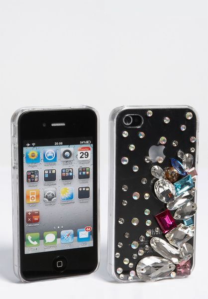 Natasha Couture Iphone 4 4s Case in Multicolor (clear/ multi bright crystal) - Lyst