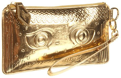 Vivienne Westwood Greek Eye Wristlet in Gold (o) - Lyst
