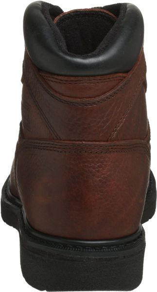 Red Wing Worx By Shoes Mens 6 Work Boot In Brown For Men