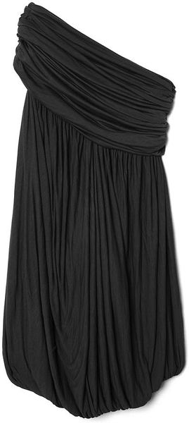 Rick Owens Oneshoulder Dress in Black - Lyst