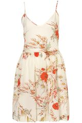 Topshop Poppy Skater Dress By Boutique - Lyst