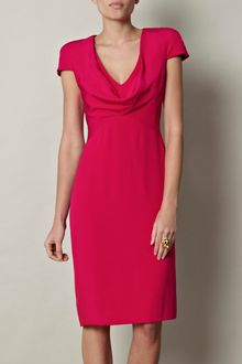 Alexander McQueen Silk Dress - Lyst
