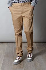 A.p.c. Chino Trousers in Beige for Men (sand) - Lyst