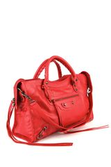 Balenciaga Classic City Bag in Red - Lyst