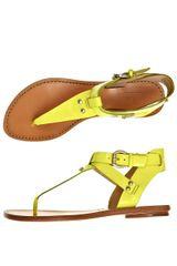 Belle By Sigerson Morrison Randy Sandals - Lyst