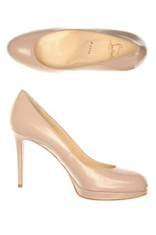 Christian Louboutin New Simple Jazz 100mm Shoes - Lyst