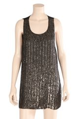 Day Birger Et Mikkelsen Sequin Stripe Sleeveless Dress - Lyst