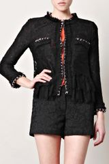 D&G Lace Chaintrim Jacket - Lyst