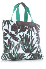 Dvf 1974 Large Beach Tote in Brown (green) - Lyst