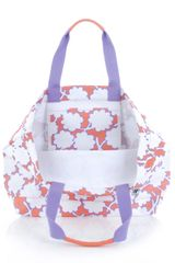 Dvf 1974 Large Beach Tote in Purple (lilac) - Lyst