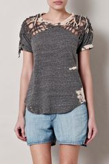 Isabel Marant Tizy Tiedye Braided Top - Lyst