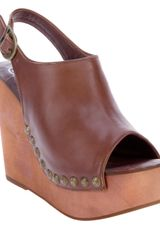 Jeffrey Campbell Leather Sandal